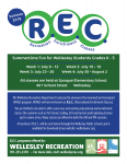 REC Program Brochure Cover 2018