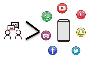 More Social Less Media