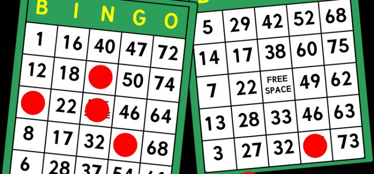 Hardy Bingo Night! Jan. 25th