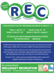 REC Summer Program Brochure Cover