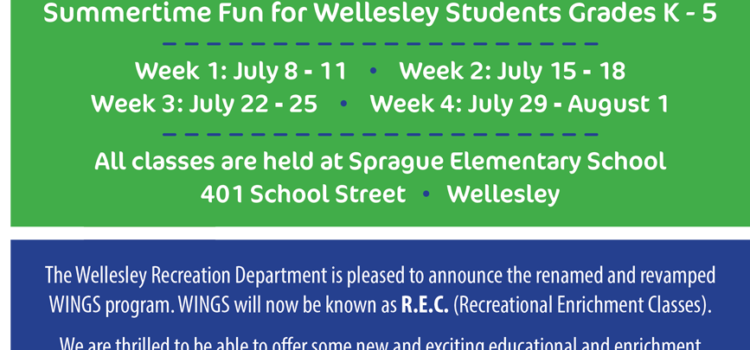 Summer R.E.C. (Recreation Enrichment Classes)