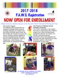 PAWS Enrollment Flyer