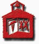 Red Schoolhouse Nursing Icon