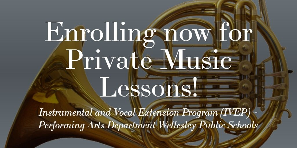 Enrolling now for Private Music Lessons