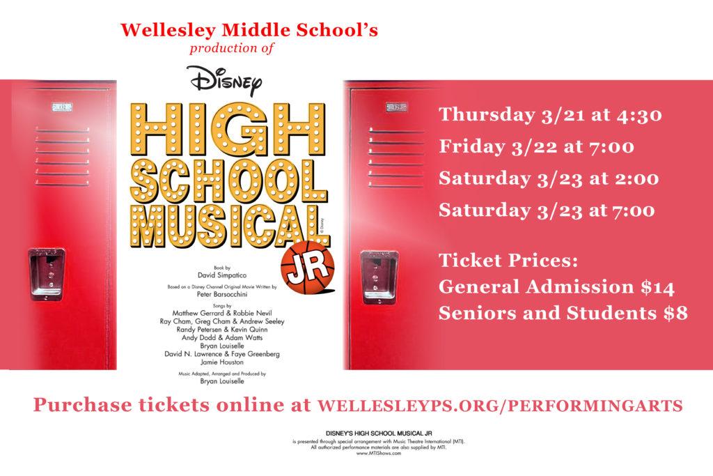 Show Poster - Disney's High School Musical, Jr.