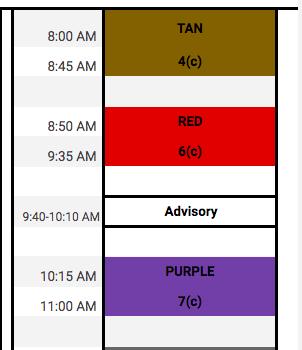 June 4th Schedule & Science MCAS Information