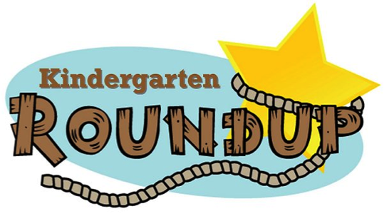 Kindergarten Round-Up clip art