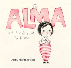 Alma book cover