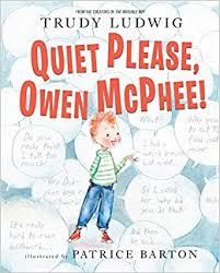 quiet please owen mcphee book