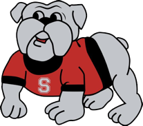 Sprague Bulldog Mascot