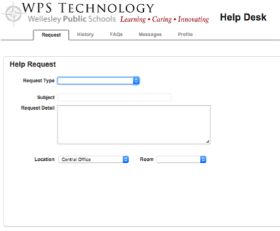 HelpDesk Step 3 Screenshot