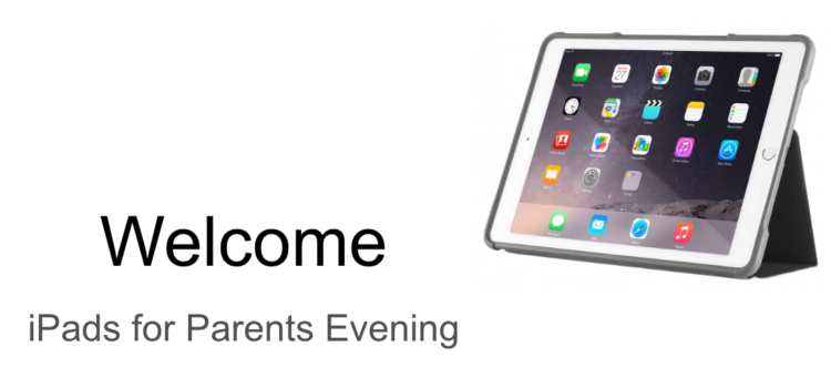 iPads for Parents Night Recap 2019-20