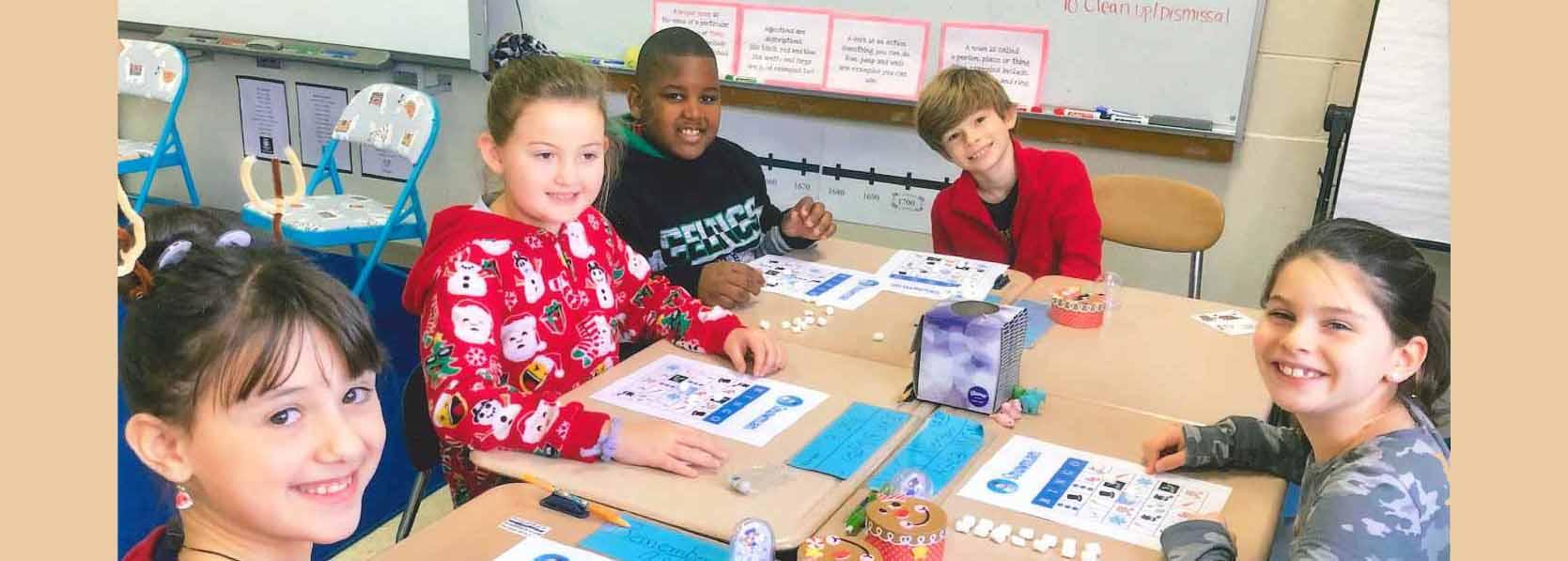 Five Upham Students in School