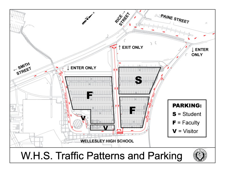 WHS New Traffic Plan Fall 2015