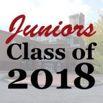 Juniors Class of 2018