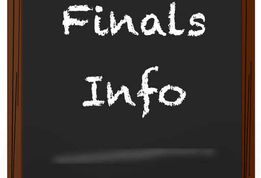 Finals and End of Year Information
