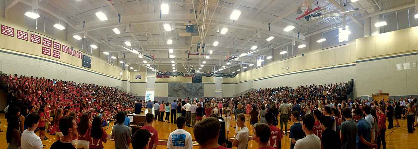 WHS Gym First Day Assembly