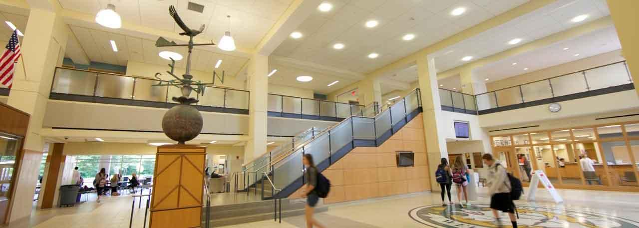 WHS Interior Lobby Entryway