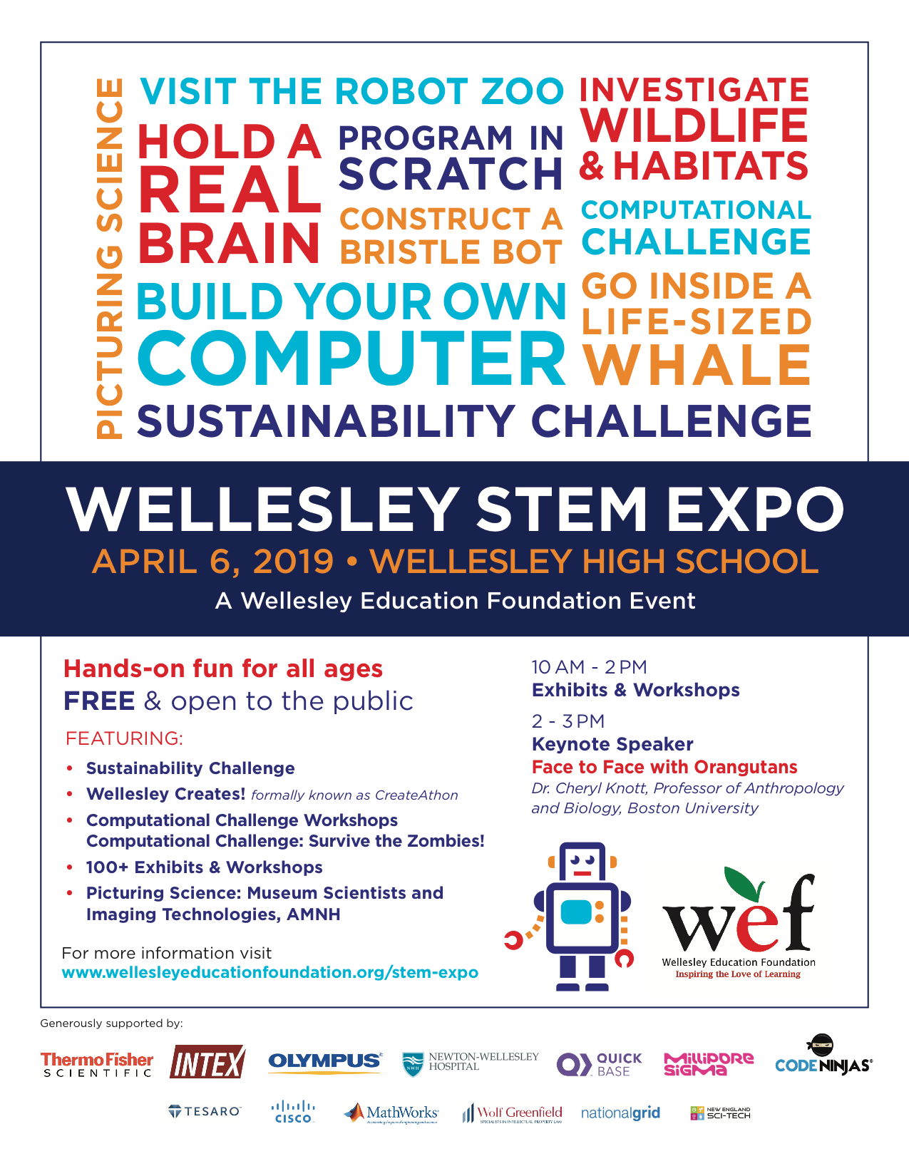 wef stem expo - saturday, april 6, 2019
