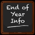 End of Year Chalkboard