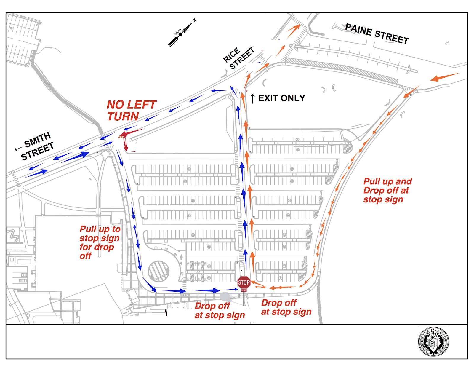 WHS Traffic Flow Patterns