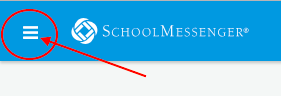 SchoolMessenger Menu icon