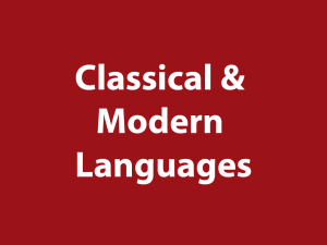 Classical & Modern Languages