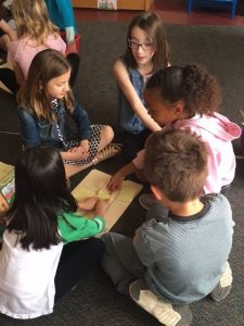 Students learn to facilitate their own book clubs (Grade 2)