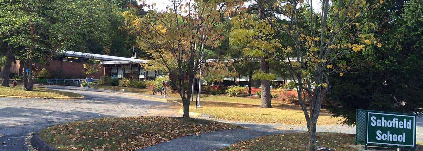 Schofield Elementary School Exterior View
