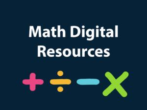 Math Digital Resources