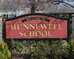 Hunnewell School Sign