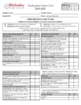 WPS K-5 Standards Based Report Cards