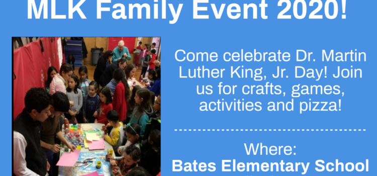 World of Wellesley MLK Family Event – Jan. 20, 2020 – 11:30 am to 1:00 pm