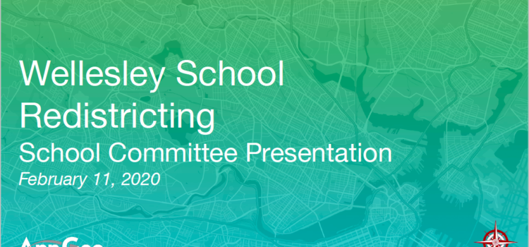 Redistricting Update – School Committee Approved Options – 2/25/20