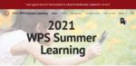 Summer Learning website screenshot